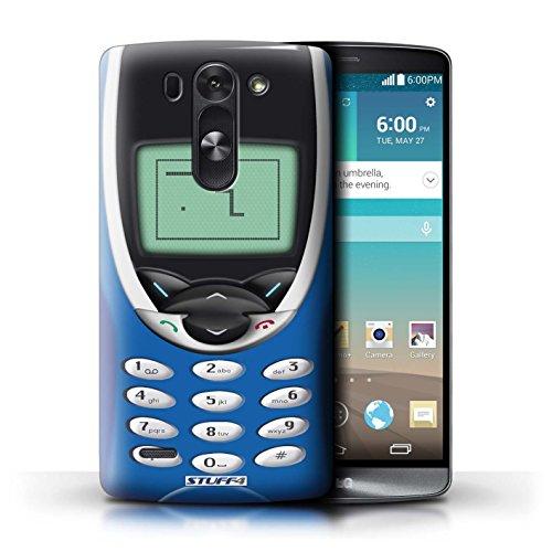Kobalt® Imprimé Etui / Coque pour LG G3 S (Mini)/D722 / Nokia 8210 vert conception / Série Portables rétro Bleu