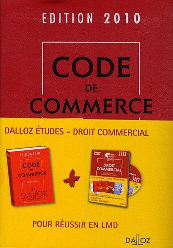 Droit commercial 2010 (1Cédérom)