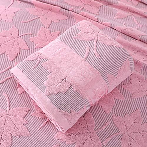 GGsmd Summer Quilt Baumwollgauze Klimaanlage Decke Erwachsene Haushalt Täglich Notwendigkeiten Bettwäsche 200 * 230 Bean Paste Powder Sommerdecke