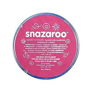 Snazaroo - Pintura facial y corporal, 18 ml, color rosa fucsia