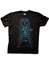 Doctor Who Dr. Who Dalek X-Ray Adult Black T-Shirt