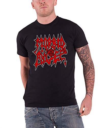 Morbid Angel - Top - Maniche corte  - Uomo nero X-Large