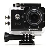 Action Cam, icefox 2K 16MP Unterwasserkamera, WIFI Fernbedienung, 2.0 Display Helmkamera,...