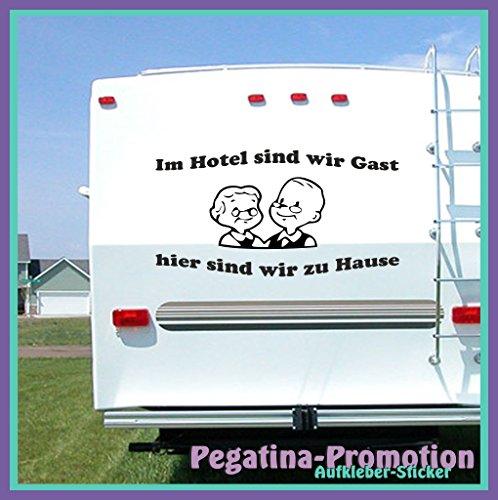 Hochwertige Wohnwagen / Wohnmobil Aufkleber
