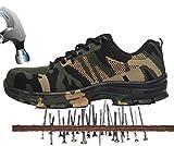 Aizeroth-UK Herren Arbeitsschuhe Leicht Atmungsaktiv Anti-Smash Puncture-Proof Zwischensohle S3 Sicherheitsschuhe mit Stahlkappe Berufsschuhe Handwerk Schuhe Turnschuhe Wanderhalbschuhe Stiefel