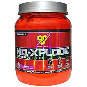 N.O.-XPLODE® 3.0 PRE-TRAINING IGNITER 60 Servings (Grape)