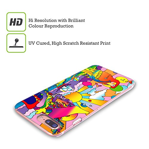 Ufficiale Howie Green Cantante Hippie Psichedelico Cover Retro Rigida per Apple iPhone 5 / 5s / SE Pirati