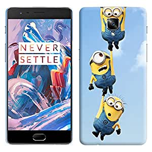 Theskinmantra Minion drop back cover for OnePlus 3/OnePlus Three/1+3