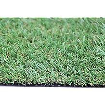 Campo de césped artificial, alfombra de césped con efecto natural, muy robusto