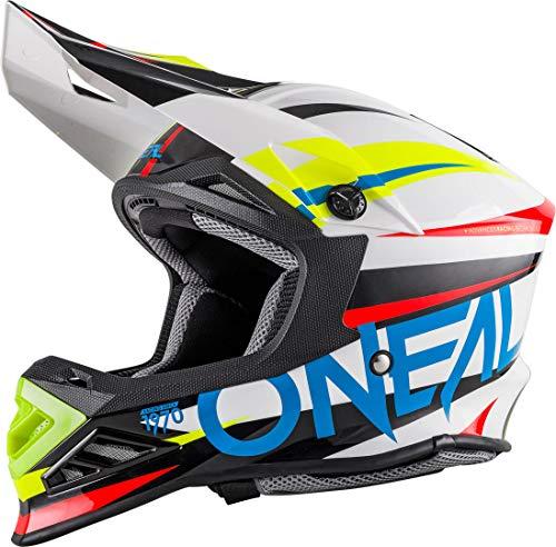 59//60 cm ONeal 3Series MX Helm Mercury Schwarz Orange Motocross Enduro Quad Offroad Cross Gr/ö/ße L 0623-44