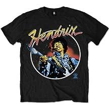 Jimmy Hendrix Herren T-Shirt Script Circle