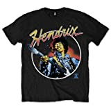 Best De Jimi Hendrixes - Jimi Hendrix Script Circle - T-Shirt - Homme Review