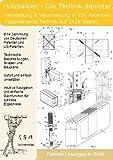 Holzbalken. Verfahren und Herstellung: 291 Patente zeigen was dahinter steckt