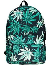 Mochila viajes mochilas de lona de escuelas para estudiantes a la escuela unisex [005]