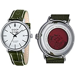 CCCP HERITAGE Leather Watch - CP-7019-04