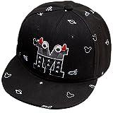 Belsen Kind Baby Teufel Ox Horn Baseball Kappen Cap Truckers Hat (schwarz)