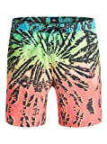 Quiksilver Glitched 17' - Swim Shorts - Short de Volley - Homme - L - Rose