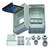 REV Ritter 0515541555 Verteiler Aufputz Wassergeschützt 1-reihig EK 04