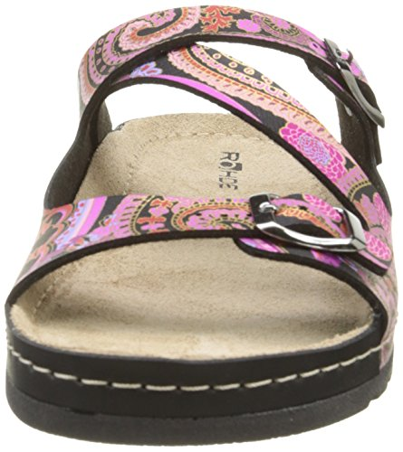 Rohde 5806 Damen Clogs & Pantoletten Mehrfarbig - Multicolore (46 Pink)