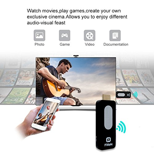 WIFI Display Dongle New Phone Miracast Display Dongle Built-in WiFi HDMI Wireless Miracast Display Dongle Router PTV Display Adapter TV Stick