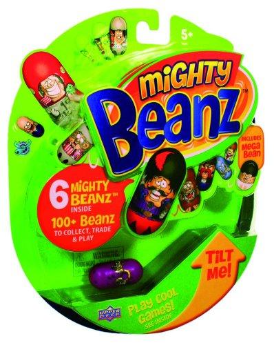 Upper Deck 201766 - Mighty Beanz mit Mega Bean und Flyer von allen Beanz, 6er Packung