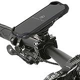 Wicked Chili QuickMOUNT Fahrradhalterung für Samsung Galaxy S9 Fahrrad Handyhalterung mit Kugelgelenk, S9 Schutzhülle Case Halter (S9 Handyhülle + Bike Mount), Case S9 + Fahrradhalterung