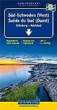 Kümmerly & Frey Karten, Süd-Schweden (West) (Kümmerly+Frey Reisekarten)