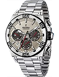 Reloj Festina caballero Chrono Bike acero 16658 A f7d4b4179ad6
