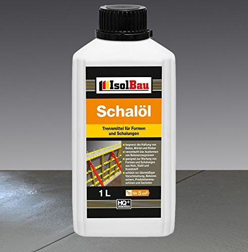 1 Liter Schalöl Professional Schaloel Trennmittel Betontrennmittel Schalungsöl Trennmittel für Formen und Schalungen Holz Metall Matrizenschalungen Mischerschutz
