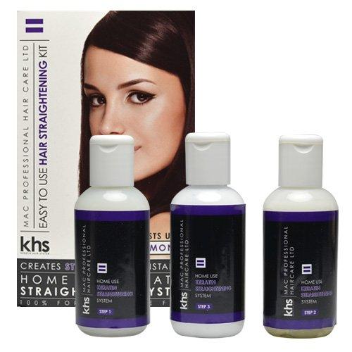 Keratin Hair System, Trattamento lisciante per capelli in 3 fasi