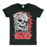 Logoshirt T-Shirt STAR WARS - CHEWBACCA black M