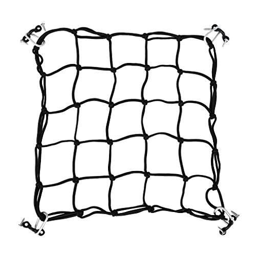 Sharplace Rete Deck Cargo Bungee Net con Occhiello Moschettone Gancio-up Accessori Kayak