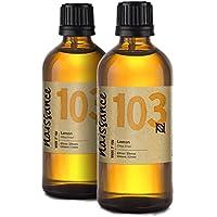Naissance Zitronenöl (Nr. 103) 200ml (2x100ml) 100% naturreines ätherisches Öl preisvergleich bei billige-tabletten.eu