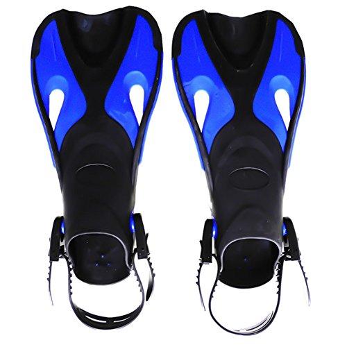 Kinder Schwimmen Essential Tauchen Verstellbar Füße Web S/M Größe Schwarz Blue Series (Tauchen-serie)