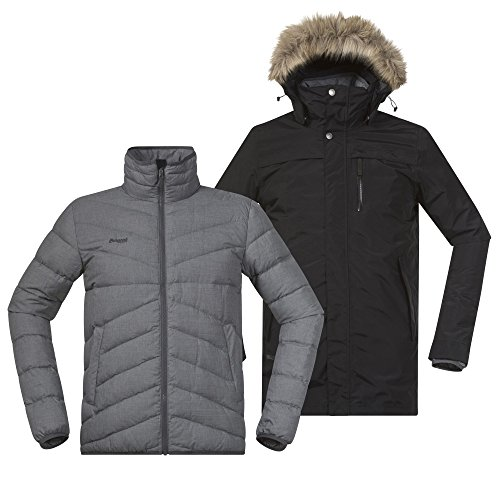 Michaelax-Fashion-Trade - Blouson - Uni - Manches Longues - Homme Black / Solid Grey