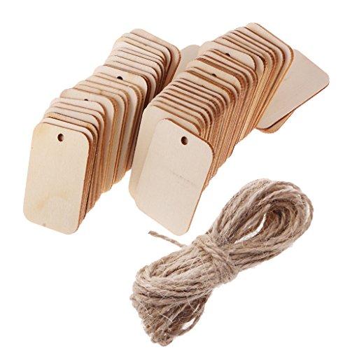 DIY Holz Handwerk Runde Holz Chip Hanfseil Digital 1-10  Set Anhänger 10X