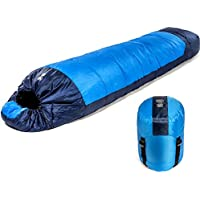 Viking Trek 350x Sleeping Bag – Warm 350g Filling & Breathable, Ideal Camping Gear for Music Festivals, DoE Awards, Hiking, and Backpacking - Includes 100% Waterproof Compression Carry Bag
