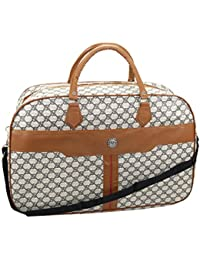 Multi Purpose Printed Travel Bag Large Handbag/shopping Bag/duffel Bag/luggage Bag For Women - 21.5x14x7.5inch