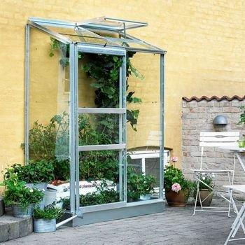 Gewächshaus Juliana Altan 2 0,91m² Alu / 3mm Blankglas
