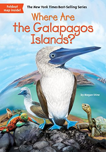 Where Are The Galapagos Islands? por Megan Stine