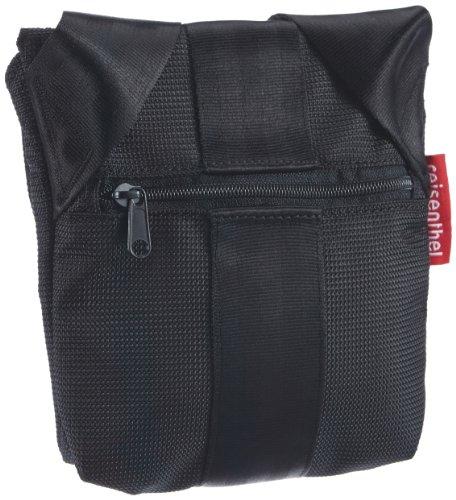 Reisenthel Airbeltbag–Borsa a tracolla borsa a tracolla Messenger borsa da giorno con chiusura Original aereo–Cintura di sicurezza––dimensioni a scelta, Schwarz - L 03 black