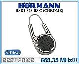 Hörmann HSD2–868-bs-c chrom Fernbedienung, 868,3MHz BiSecur Sender 2-Kanal. Hochwertige Original Fernbedienung für Hormann das Beste Preis.