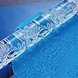 Mbuynow® Hot Decorating Pattern Embossed Rolling Pin Fondant Cake Paste Gum Embossing Sugarcraft Tool. (HYE414)
