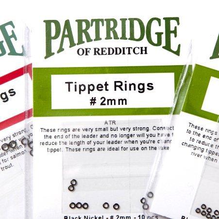 Partridge Habit, Ringe 3 mm (Leader-ringe Fishing Fly)