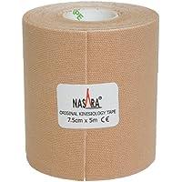 Nasara KT3B Original Kinesiology Tape (7.5 cm x 5 m), Beige preisvergleich bei billige-tabletten.eu