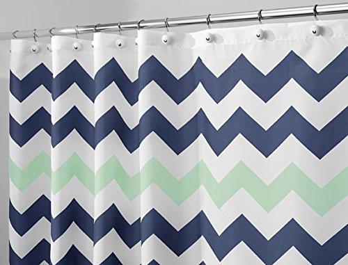 mdesign-chevron-cortina-de-tela-para-el-cubiculo-de-ducha-183-x-183-cm-azul-marino-menta