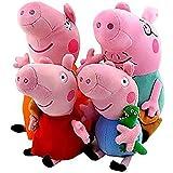 Peppa Pig Family George Stuffed Toy Plush Doll (4pcs/lot)