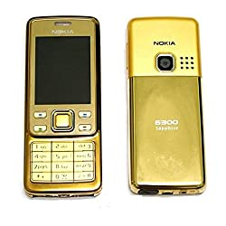 Nokia 6300 - Gold (Unlocked) -Cellular Phone
