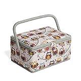 Hobby Gift MRM/195 | ulular - De tamaño mediano - Cesta de costura | 18.5x26x15cm