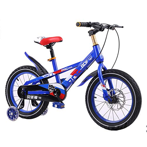 Mysida Kids' Bikes Kinderfahrrad für Jungen und Mädchen (Farbe : D, größe : 16 inches)
